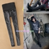 กางเกงยีนส์เดฟขายาว สีโทนดำ : SIZE M รหัส PN060