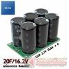 Super CAP 20Farad 16.2V (ELNA Dynacap 120F/2.7Vx6) พร้อมวงจร Balance
