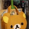 กระเป๋าหน้าน้องหมีใบใหญ่ Rilakkuma Bag (ซื้อ 3 ชิ้น ราคาส่ง 400 บาท/ชิ้น)