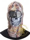 ไอ้โม่งคลุมหัว Ghost Recon Tactical Skull Hood - Leaf Camo