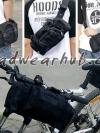 กระเป๋าจักรยาน กระเป๋าเป้คาดเอว แขวนจักรยาน สารพัดประโยชน์ : สีดำ