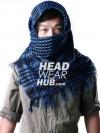 ผ้าพันคอชีมัค : สีน้ำเงิน