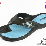 Gambol รุ่น แกมโบลแตะสี รหัส GM41029 สีดำฟ้า เบอร์ 3-9