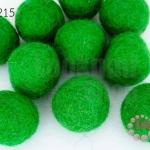 ลูกบอล Feit 25มิล #1 สีเขียวแก่ (5ลูก)