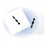 ของเล่นเด็ก ของเล่นเสริมพัฒนาการ Transparent Spinners, Set of 5
