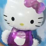 ลูกโป่งฟลอย์ Hello Kitty สีม่วง - Hello Kitty Purple color Foil Balloon / Item No. TL-A123