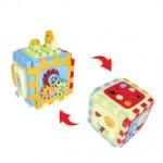 ของเล่นเสริมพัฒนาการ ลูกเต๋ากิจกรรม 6 ด้านของหนูน้อย 1 ขวบ Playgo 2145 [ส่งฟรี]