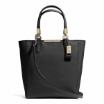 กระเป๋า COACH รุ่น MADISON SAFFIANO LEATHER MINI NORTH/SOUTH TOTE F29001