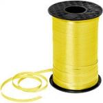 ริบบิ้นม้วนใหญ่ สีเหลือง สำหรับผูกลูกโป่ง ยาว 350 เมตร - Yellow Curling Ribbon