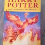 Harry Potter and the Order of the Phoenix ของ J.K.Rowling แฮร์รี่ พอตเตอร์กับภาคีนกฟินิกซ์ (ภาคภาษาอังกฤษ)
