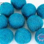ลูกบอล Feit 25มิล #1 สีฟ้า (5ลูก)