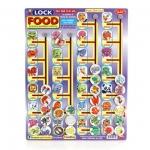 เกมการศึกษา handtoy Lock Food (6009) | สินค้าหมด