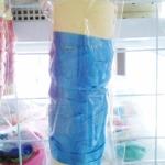 ริบบิ้น สีฟ้า สำหรับผูกลูกโป่ง ยาว 10 เมตร - Ribbon Blue Sky Color For Balloon
