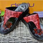 รองเท้า Deblu เดอบลู รุ่นL9201 สีแดง เบอร์ 36-41
