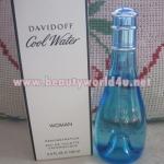 น้ำหอม Davidoff cool water edt women 100 ml. Tester (ราคาประหยัดลด 55%)
