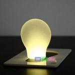 การ์ดหลอดไฟ LED แบบพกพา PA0072