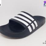 ADIDAS รุ่น Duramo Slide อาดิดาส สีดำ เบอร์ 4-11