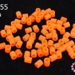 เม็ดบีทรีดร้อน สีส้ม 5 มิล (1ขีด/100กรัม)