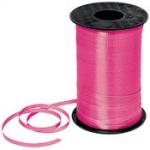 ริบบิ้นม้วนใหญ่ สีชมพูเข้ม สำหรับผูกลูกโป่ง ยาว 350 เมตร - Deep Pink Curling Ribbon