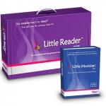 โปรแกรมเสริมสร้างพัฒนาการเด็ก Little Reader Deluxe + Little Musician Basic ชุดสุดคุ้ม 4 (ส่งฟรี EMS)