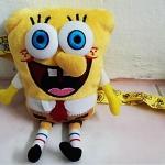 ที่ใส่โทรศัพท์ + สายคล้อง Spongebob