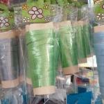 ริบบิ้น สีเขียวอ่อน สำหรับผูกลูกโป่ง ยาว 10 เมตร - Ribbon Light Green Color For Balloons