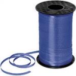 ริบบิ้นม้วนใหญ่ สีน้ำเงินเข้ม สำหรับผูกลูกโป่ง ยาว 350 เมตร - Royal Blue Curling Ribbon
