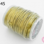 ลวดทองเหลือง 1มิล #19 (1ม้วน)