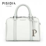 กระเป๋าแบรนด์เนม PISIDIA รุ่น WELKIN สีเทาอ่อน (ส่งฟรี EMS)