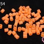 เม็ดบีทรีดร้อน สีส้มใส 5 มิล (1ขีด/100กรัม)