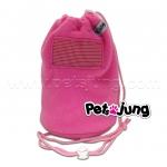 PJ-BON002-PI PetsJunG - Bonding Pouches ถุงหูรูด สีชมพู
