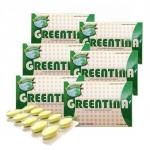 Greentina ยาลดน้ำหนัก 6 กล่อง (10 เม็ด/กล่อง)