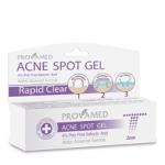 Provamed Rapid Clear Acne Spot Gel เจลแต้มสิวสูตรเร่งด่วน สำหรับ สิวอักเสบ 6 ชิ้น(เฉลี่ยชิ้นละ 153 บาท)