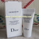 Diorsnow white Reveal Illuminating Eye Treatment 4 ml. (ขนาดทดลอง)