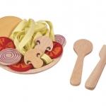 ของเล่นไม้เสริมพัฒนาการเด็ก Spaghetti สปาเก็ตตี้เห็ดหอม (ส่งฟรี)