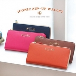 Iconic Zip Up Wallet L.