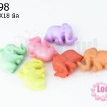 อะคริลิคสีพาสเทล รูปช้าง 23X18มิล (1ขีด/100กรัม)