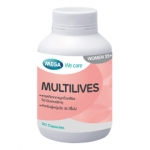Mega We Care MULTILIVES เมก้า วีแคร์ มัลติไลฟส์ 30แคปซูล วิตามินสำหรับสตรี ที่มีอายุ 35ปีขึ้นไป