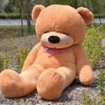 ตุ๊กตาหมีหลับ ตุ๊กตาตัวใหญ่ ขนาด 1.8 เมตร สีน้ำตาลอ่อน