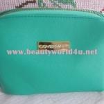 กระเป๋าเครื่องสำอาง covermark สีเขียว