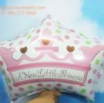 บอลลูนฟลอย์มงกุฎเด็กหญิง A New Little Princess - A New Little Princess Foil Balloon / Item No.TL-C024