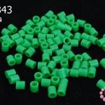 เม็ดบีทรีดร้อน สีเขียว 5 มิล (1ขีด/100กรัม)