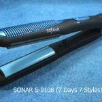 ที่หนีบผม SONAR S-9108 รุ่นฮิต 7 วัน 7 ทรง