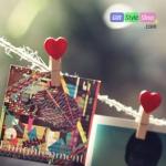 คลิปหนีบรูปหัวใจ PA0055