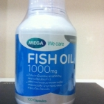 Mega We Care Fish Oil 1000 mg 100 Capsules