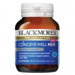 วิตามินเตรียมความพร้อมสำหรับว่าที่คุณพ่อ Blackmores Conceive Well Men (28 เม็ด)