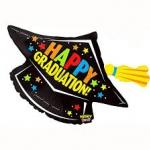 ลูกโป่งฟลอย์หมวกครุยรับปริญญา MIGHTY GRADUALATION CAP/ Item No.TQ-BL85880 แบรนด์ Qualatex