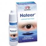 Natear lubricant eye drops 10 cc ใช้เป็นน้ำตาเทียม ช่วยเพิ่มความชุ่มชื้นให้กับดวงตา