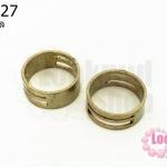 แหวนอ้าห่วง 8x19 มิล (1วง)
