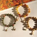 DiY Idea : ร้อยหินเสริมดวงสวมเป็นเครื่องประดับกับ Chinese Jade - Stone Bracelet
